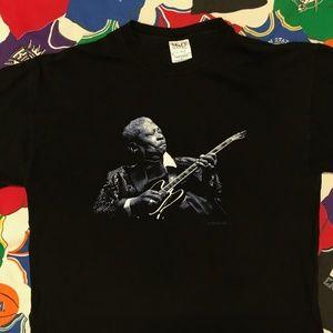 B.B. King 2004 Tour Band Jazz Tour Shirt
